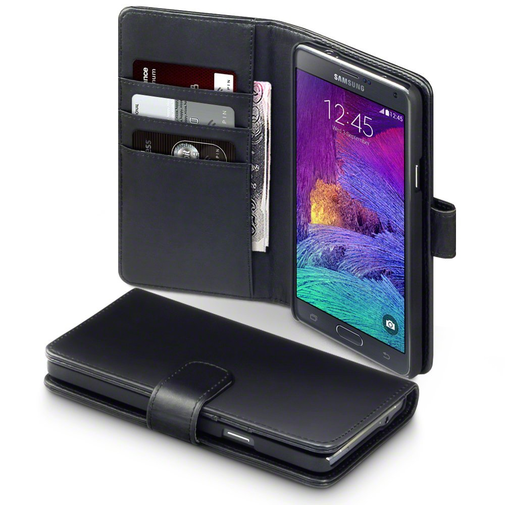 Δερμάτινη Θήκη Samsung Galaxy Note 4 - Πορτοφόλι by Terrapin (117-002-743) θήκες κινητών