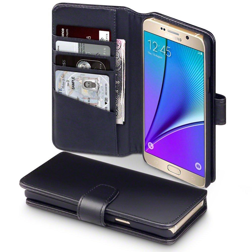 Δερμάτινη Θήκη Samsung Galaxy Note 5 - Πορτοφόλι by Terrapin (117-002-829) θήκες κινητών