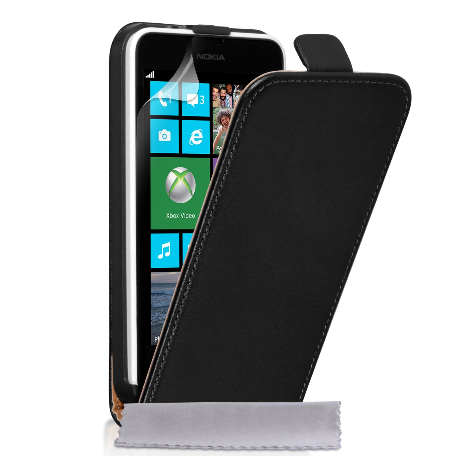 Caseflex Δερμάτινη Flip Θήκη Nokia Lumia 630/635 (Z618)