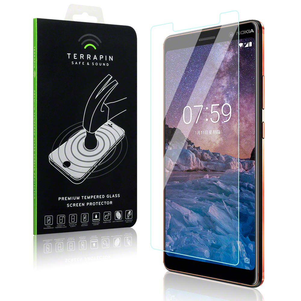 Terrapin Tempered Glass - Αντιχαρακτικό Γυάλινο Screen Protector Nokia 7 Plus (006-001-164)