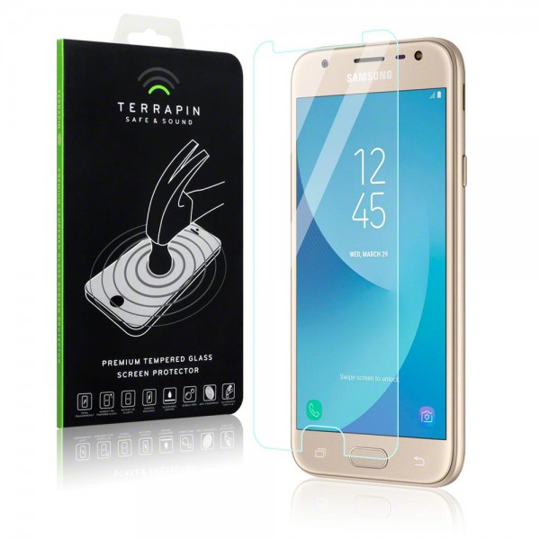 Terrapin Tempered Glass - Αντιχαρακτικό Γυάλινο Screen Protector Samsung Galaxy J3 2017 (006-002-349)