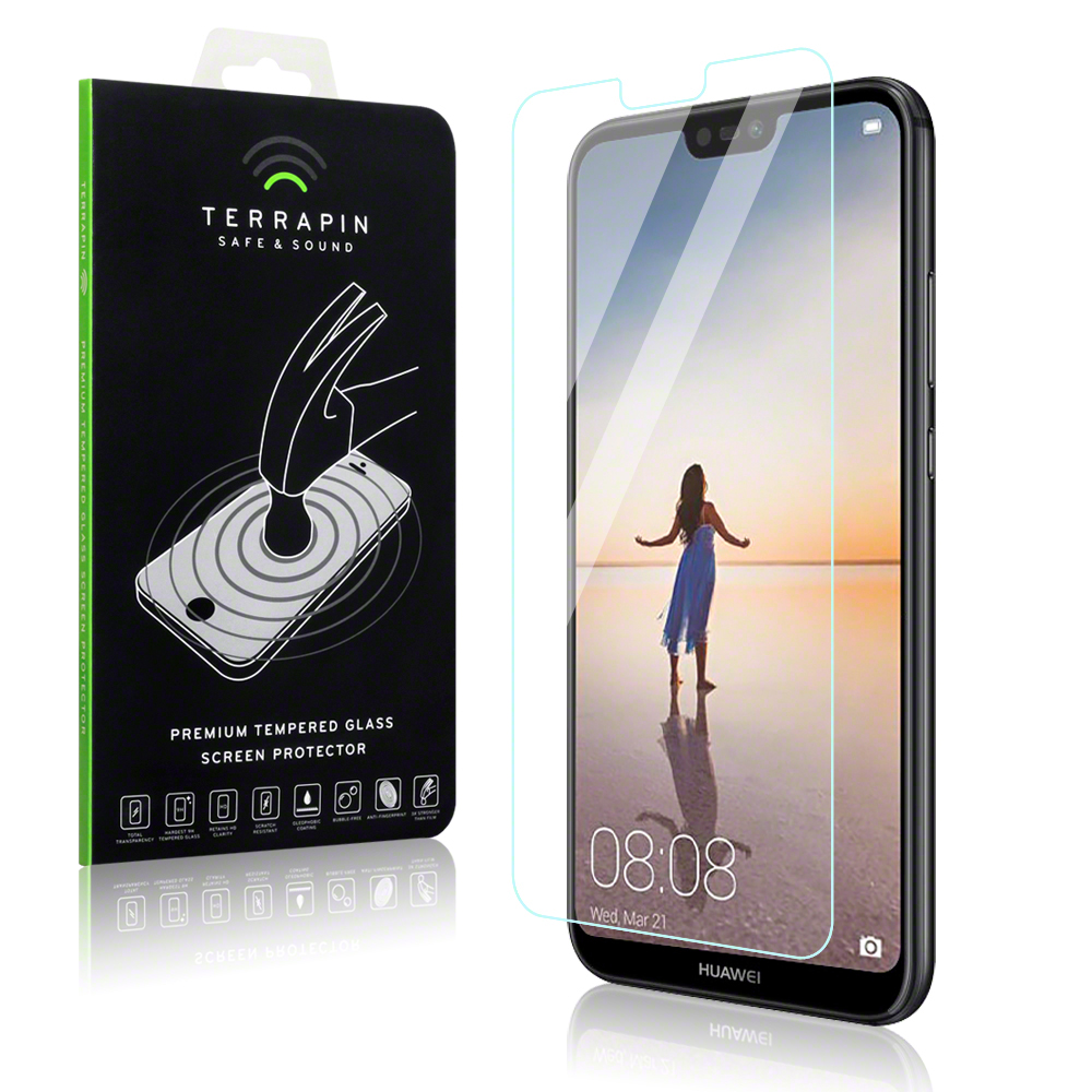 Terrapin Tempered Glass - Αντιχαρακτικό Γυάλινο Screen Protector Huawei P20 Lite (006-083-076)