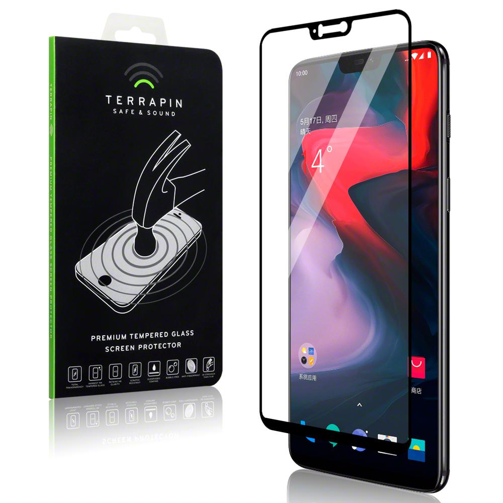 Terrapin Tempered Glass - Αντιχαρακτικό with Black Edge Γυαλί Οθόνης OnePlus 6 (006-119-006)