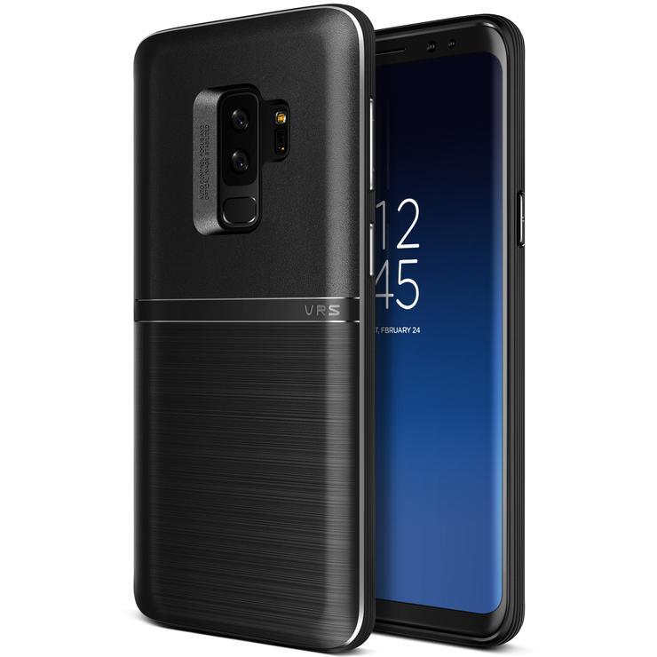 VRS Design Θήκη Single Fit Samsung Galaxy S9 Plus- Black (VRSGS9P-SFTBK)