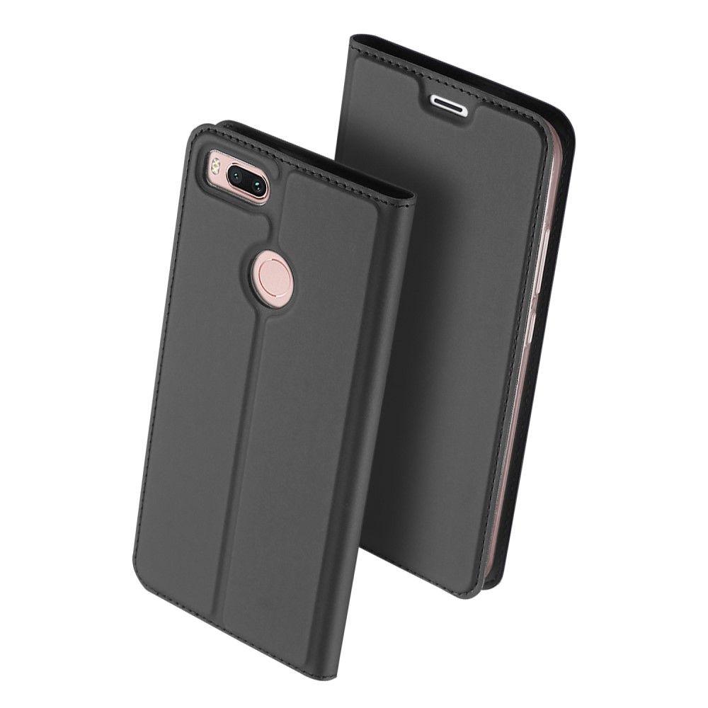 Duxducis Θήκη - Πορτοφόλι Xiaomi Mi 5X / A1 - Grey (12027)