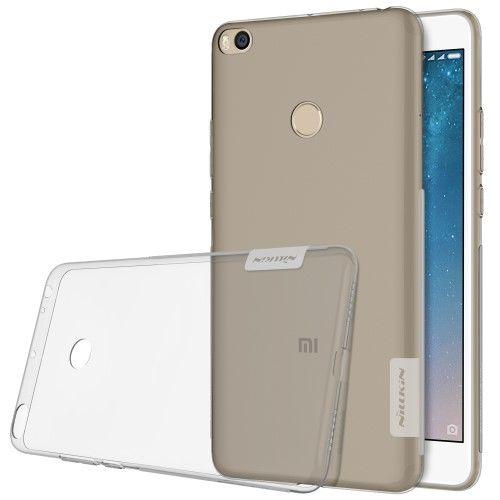 Nillkin Nature Ημιδιάφανη Θήκη Σιλικόνης Xiaomi Mi Max 2 - Grey (11876)