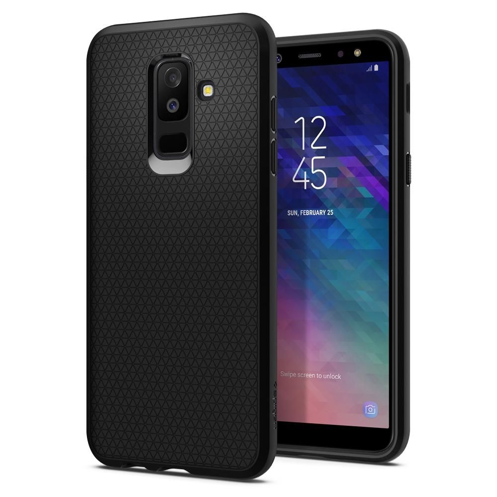 Spigen Θήκη Liquid Air Samsung Galaxy A6 Plus 2018 - Black (597CS24095)