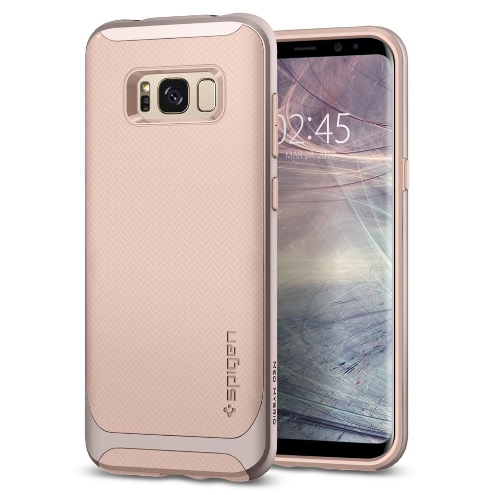 Spigen Θήκη Neo Hybrid Samsung Galaxy S8 - Pale Dogwood (565CS21601)