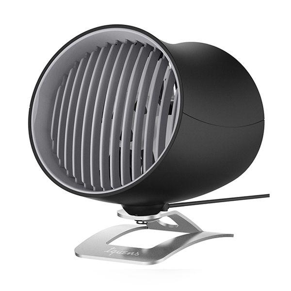 Spigen Tquens USB Touch Desk Fan - Επιτραπέζιο Ανεμιστηράκι - Black (000EH24383)