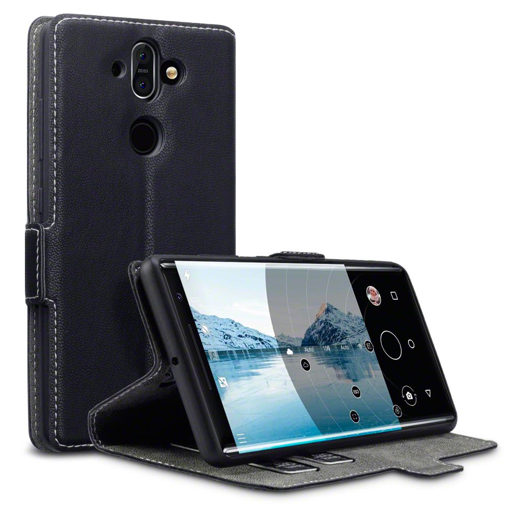Terrapin Θήκη Low Profile Thin - Πορτοφόλι Nokia 8 Sirocco - Black (117-001-273)