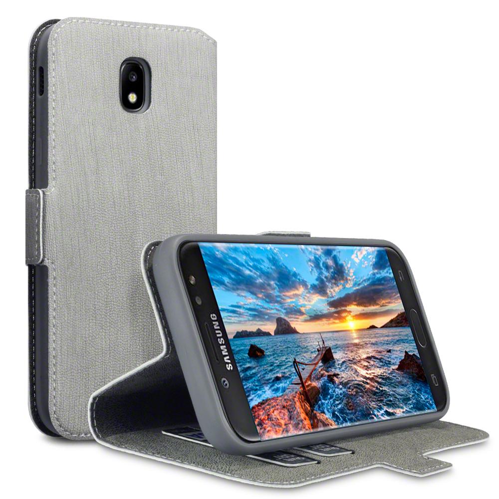 Terrapin Θήκη Πορτοφόλι Samsung Galaxy J5 2017 (Version J530F) - Grey (117-002-994)
