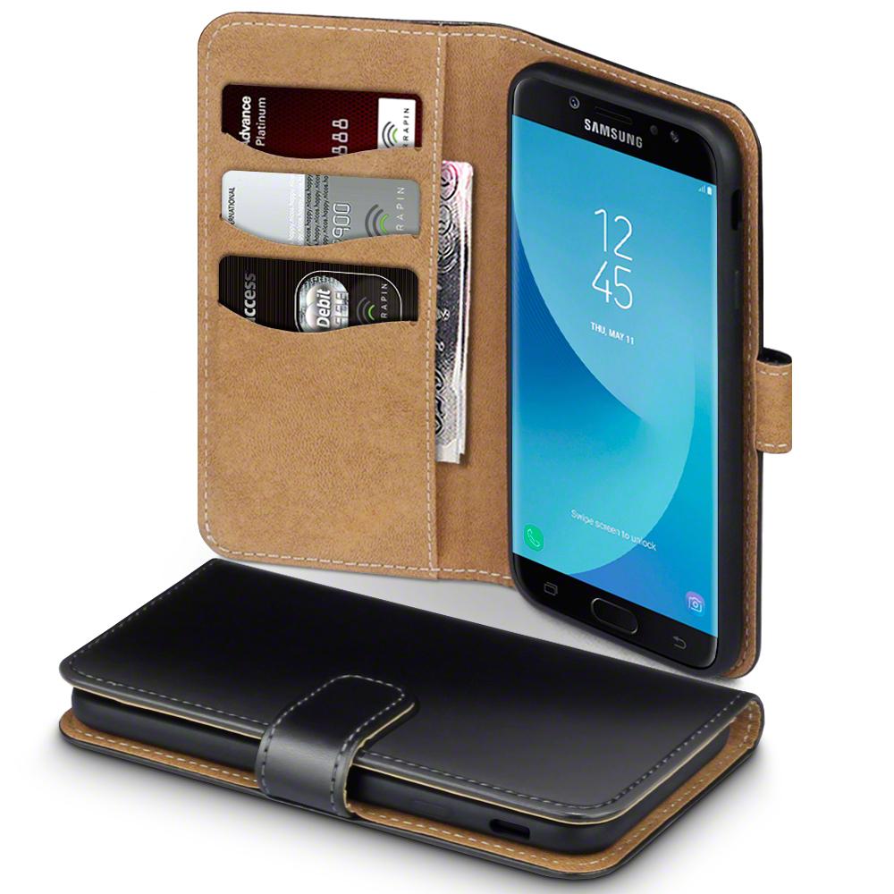 Terrapin Θήκη Πορτοφόλι Samsung Galaxy J7 2017 (Version J730F) - Black (117-002a-007)