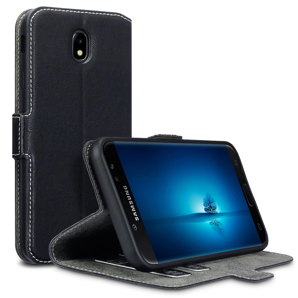 Terrapin Θήκη - Πορτοφόλι Low Profile Thin Samsung Galaxy J7 2017 (Version J730F) - Black (117-002a-009)