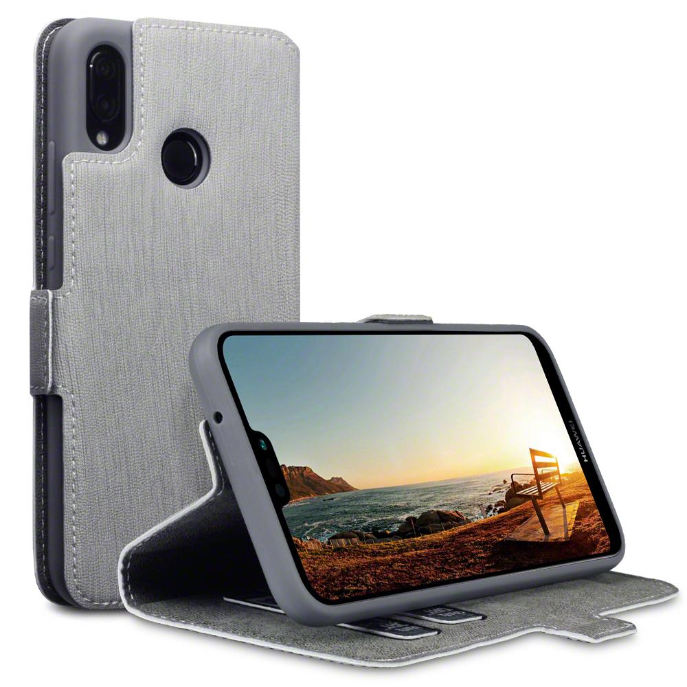 Terrapin Θήκη - Πορτοφόλι Huawei P20 Lite - Gray (117-083-193)