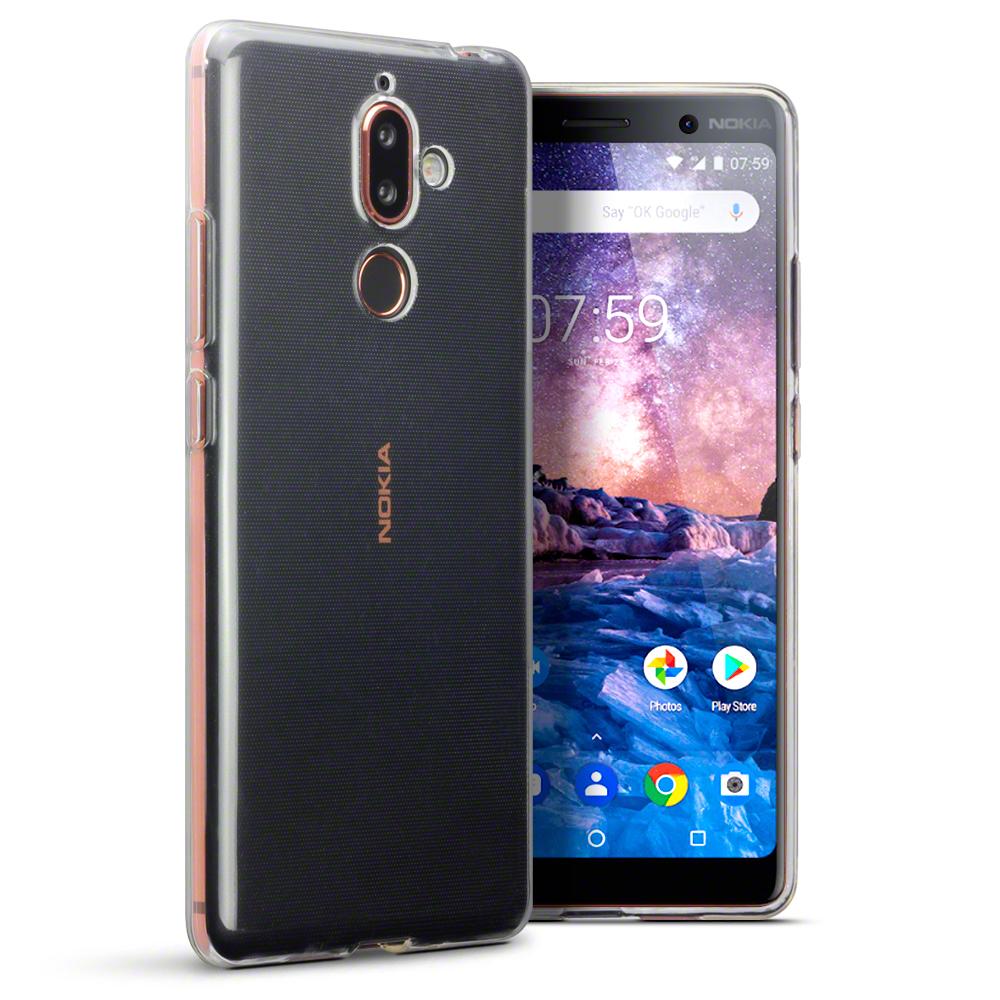 Terrapin Διάφανη Θήκη Σιλικόνης Nokia 7 Plus - Clear (118-001-258)