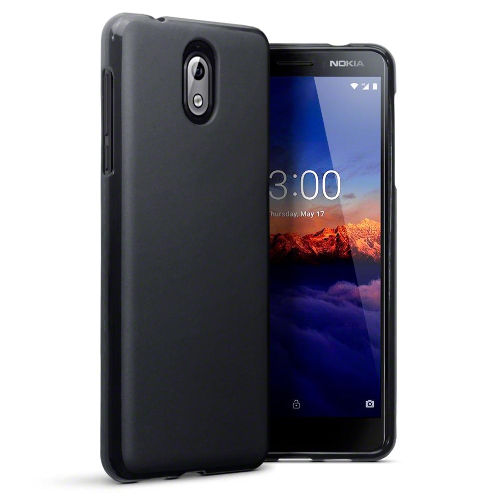 Terrapin Θήκη Σιλικόνης Nokia 3.1 - Black Matte (118-001-263)