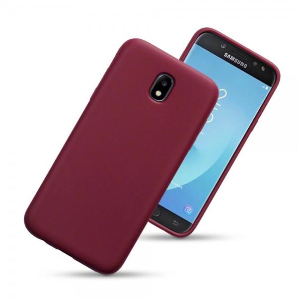 Terrapin Θήκη Σιλικόνης Samsung Galaxy J5 2017 (Version J530F) - Red Matte (118-002-639)