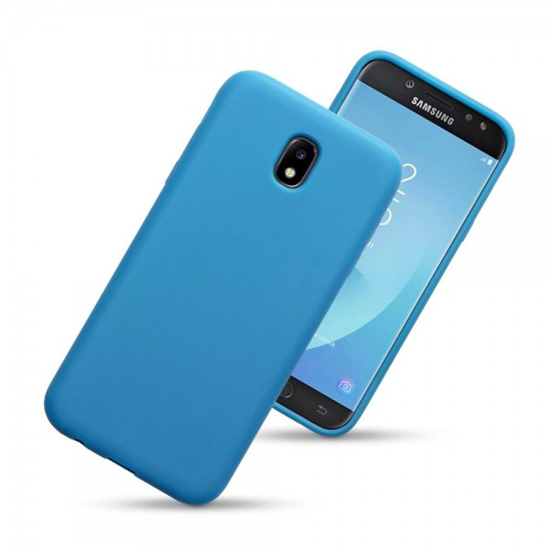 Terrapin Θήκη Σιλικόνης Samsung Galaxy J5 2017 (Version J530F) - Blue Matte (118-002-642)