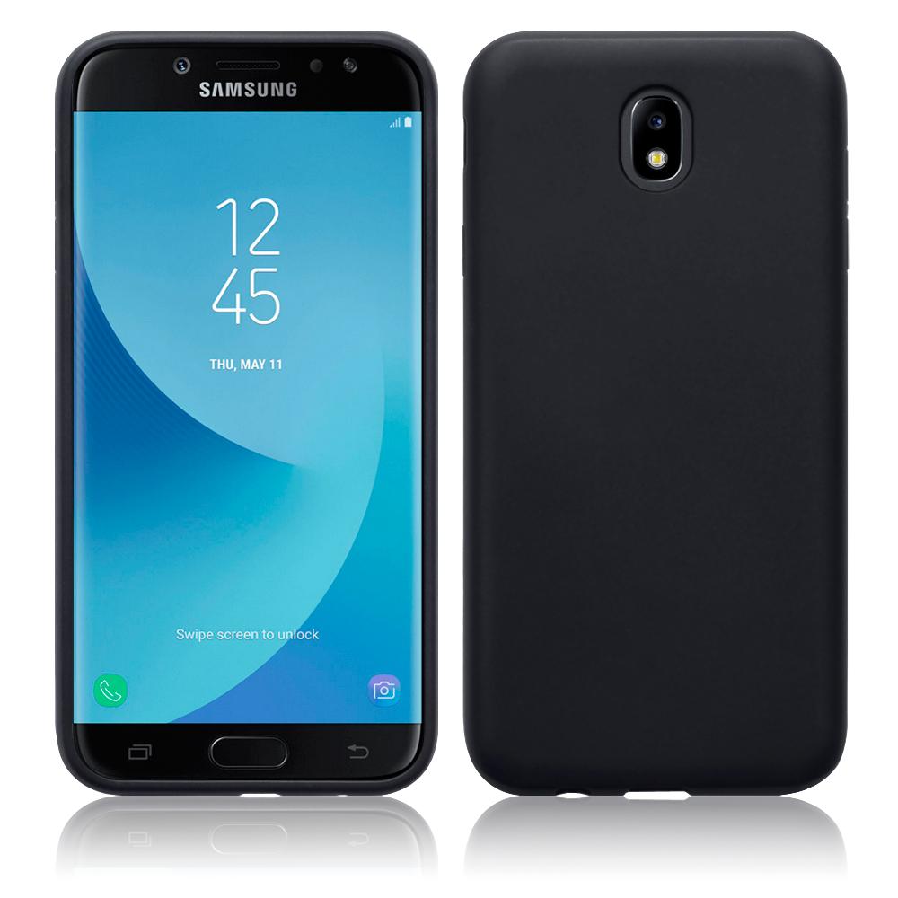 Terrapin Θήκη Σιλικόνης Samsung Galaxy J7 2017 (Version J730F) - Black Matte (118-002-654)
