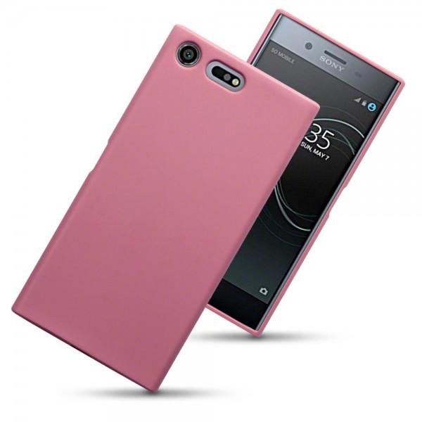 Terrapin Θήκη Σιλικόνης Sony Xperia XZ Premium - Pink Matte (118-005-391)