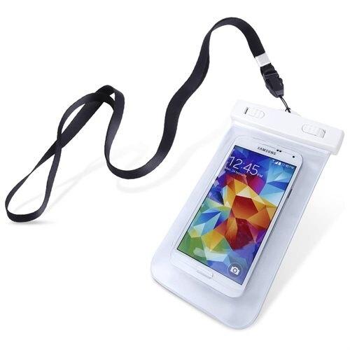 RedShield Universal Αδιάβροχη Θήκη Πουγκί για Smartphones έως 6.2'' - White (RSWTRPROOFWT)