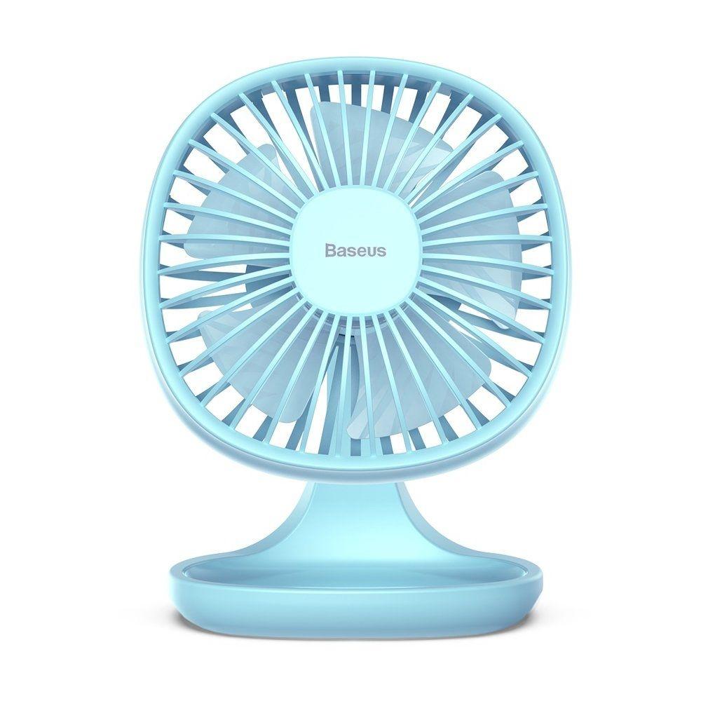 Baseus Pudding Shaped Fan - Ανεμιστήρας Μίνι Με Βάση - Blue (CXBD-15)