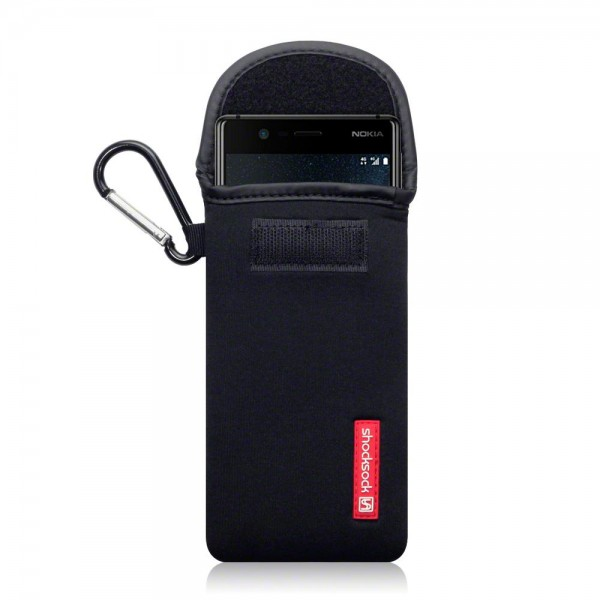 Shocksock Θήκη - Πουγκί Nokia 3 - Black (121-001-001)