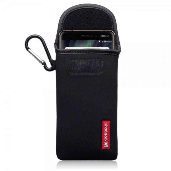 Shocksock Θήκη - Πουγκί Nokia 6.1 / Nokia 6 2018 - Black (121-001-005)