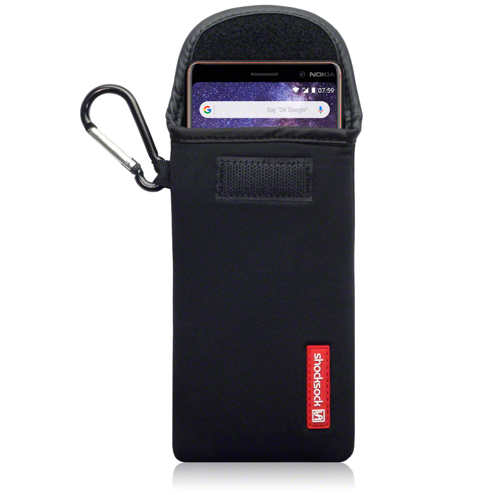 Shocksock Θήκη - Πουγκί Nokia 7 Plus - Black (121-001-006)