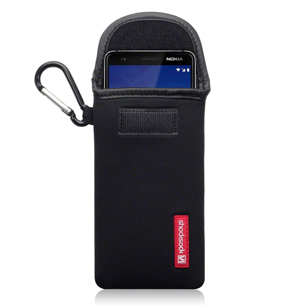 Shocksock Θήκη - Πουγκί Nokia 3.1 - Black (121-001-007)
