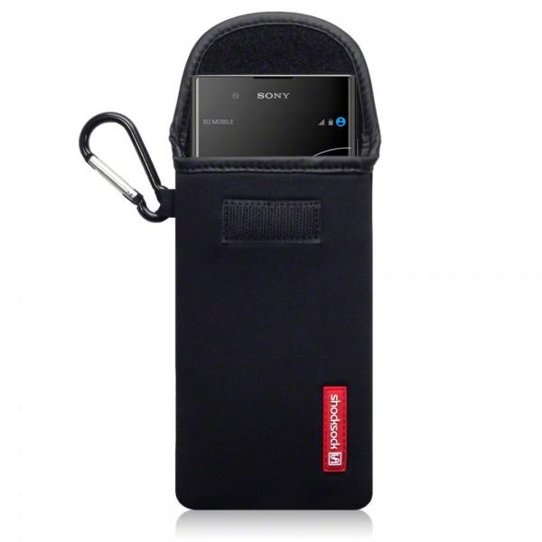 Shocksock Θήκη - Πουγκί Sony Xperia XA1 Plus -  Black (121-005-032)