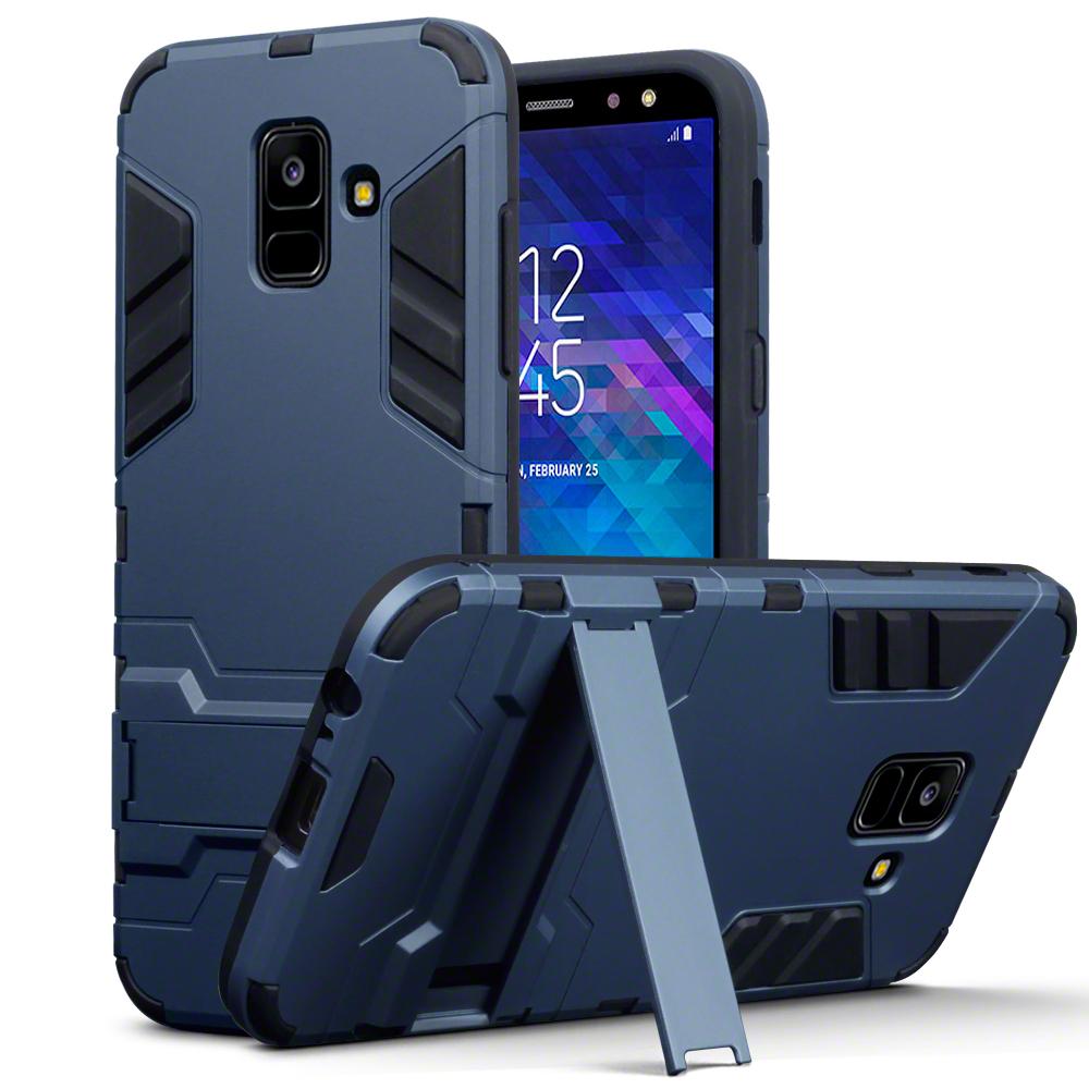 Terrapin Ανθεκτική Dual Layer Θήκη Samsung Galaxy A6 2018 - Blue (131-002-078)