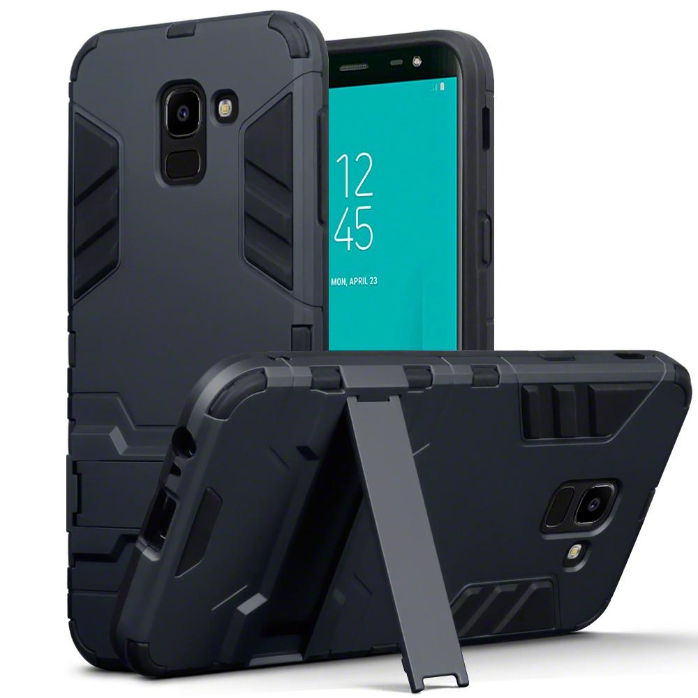 Terrapin Ανθεκτική Dual Layer Θήκη Samsung Galaxy J6 2018 - Black (131-002-083)