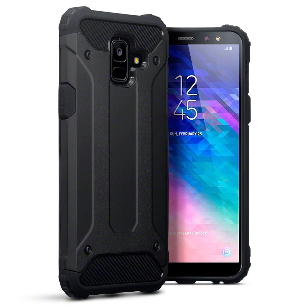 Terrapin Ανθεκτική Θήκη Impact Shock Samsung Galaxy A6 2018 - Black (131-002-100)