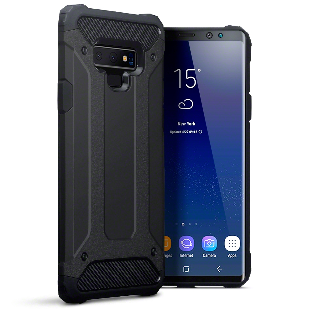 Terrapin Ανθεκτική Θήκη Impact Shock Samsung Galaxy Note 9 - Black (131-002-109)