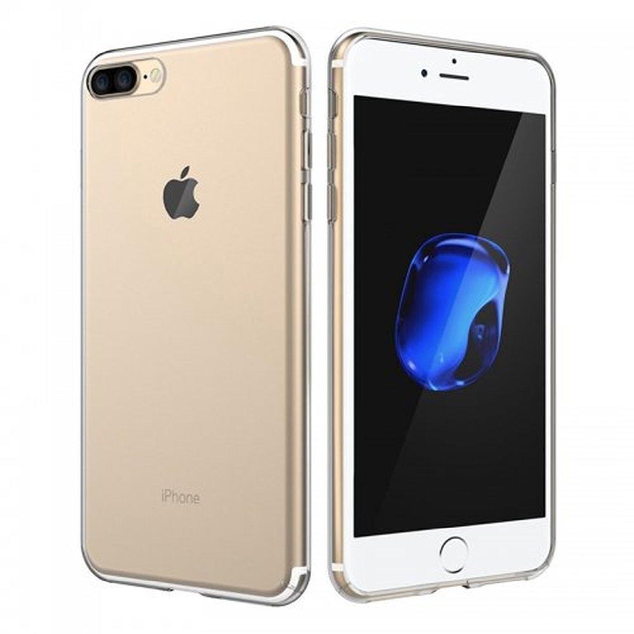 Celly Θήκη Σιλικόνης iPhone 7 Plus / 8 Plus - Transparent (GELSKIN801)