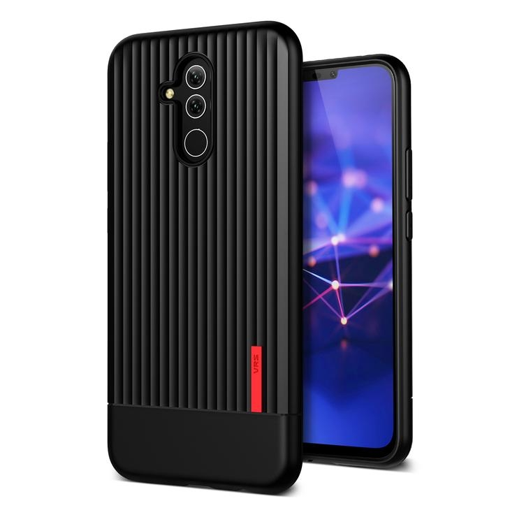 VRS Design Θήκη Single Fit Label Huawei Mate 20 lite - Black (VRS-HM20L-SFL-BLK)