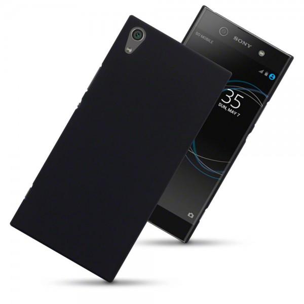 Terrapin Σκληρή Θήκη Καουτσούκ Sony Xperia XA1 Ultra - Black (151-005-124)