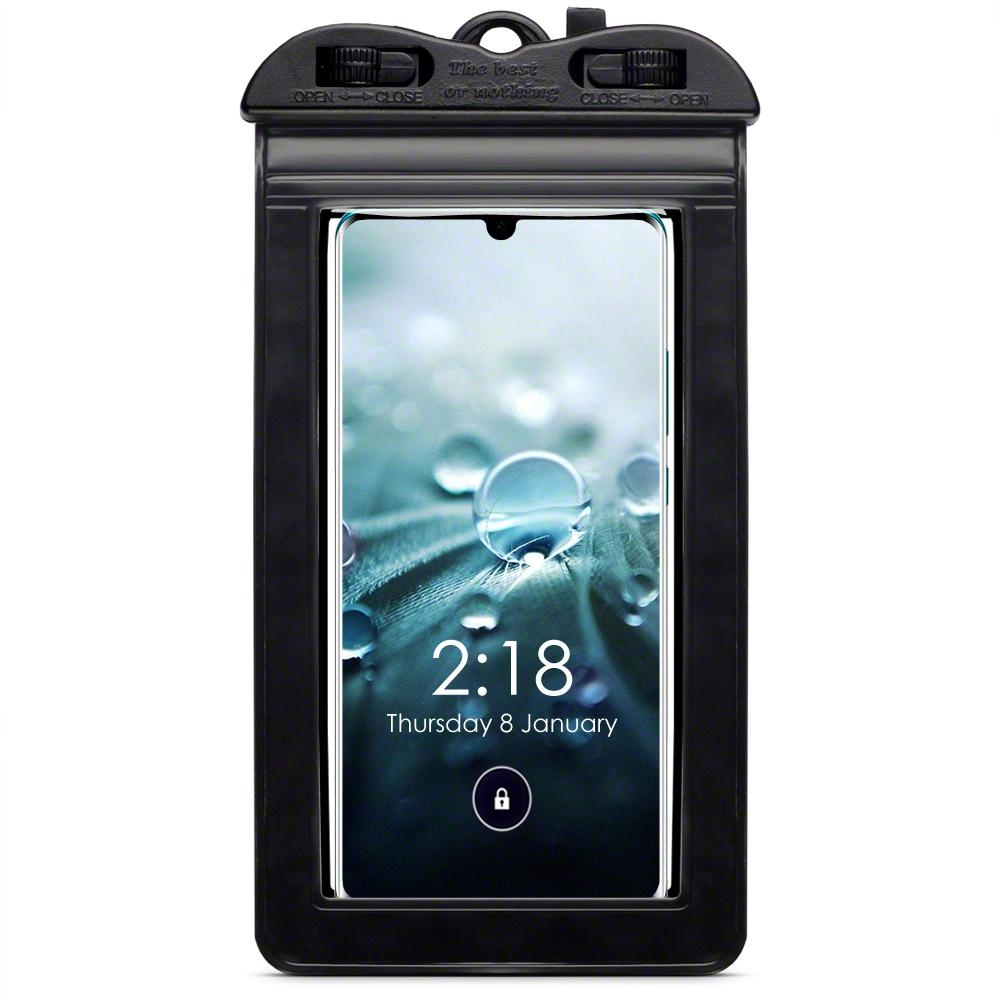 Terrapin Universal Αδιάβροχη Θήκη Πουγκί για Smartphones έως 6.5'' - Black (156-019-004)