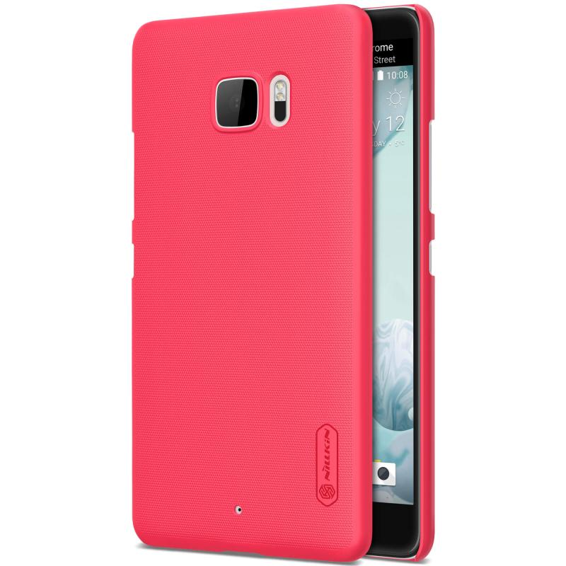Nillkin Θήκη Super Frosted Shield HTC U Ultra & Screen Protector - Red (12328) θήκες κινητών