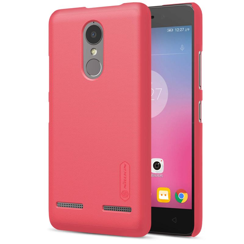 Nillkin Θήκη Super Frosted Shield Lenovo K6 Power & Screen Protector - Red (12327)
