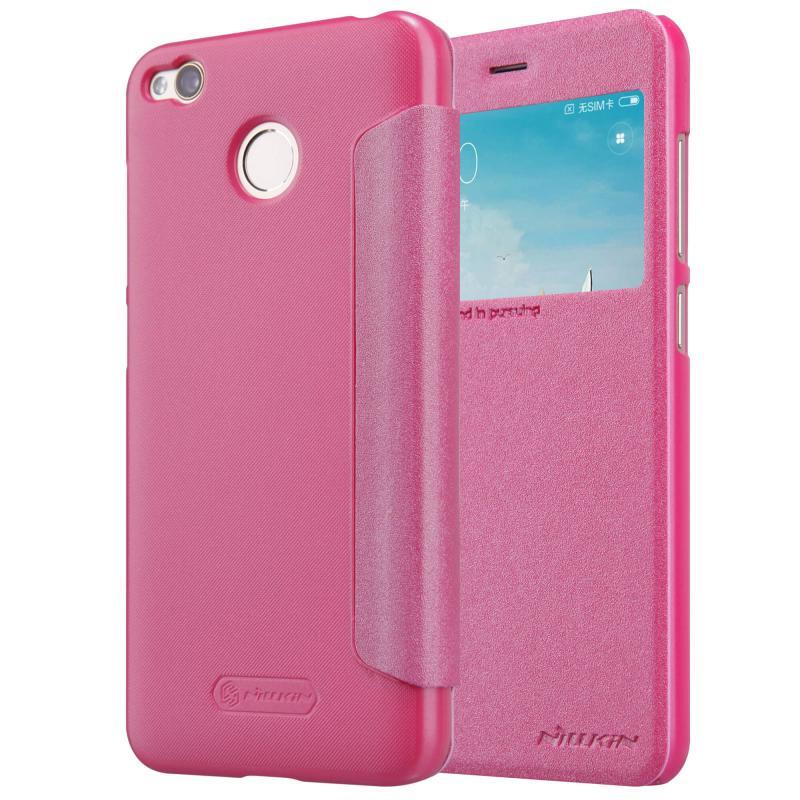 Nillkin Θήκη Sparkle View-Flip Xiaomi Redmi 4 / 4X  - Pink (12353)