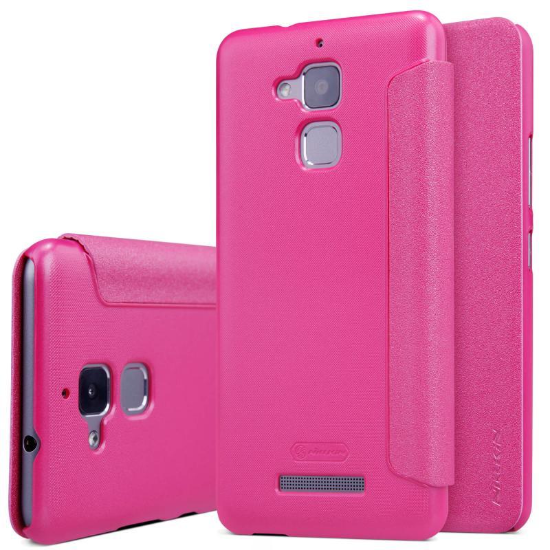 Nillkin Sparkle Flip Case Asus Zenfone 3 Max (ZC520TL) - Pink (12355)