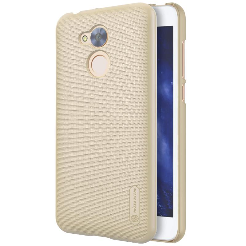 Nillkin Θήκη Super Frosted Shield Honor 6A (Pro) & Screen Protector - Gold (12324)