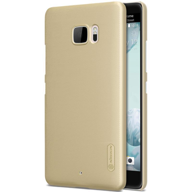 Nillkin Θήκη Super Frosted Shield HTC U Ultra & Screen Protector - Gold (12330) θήκες κινητών