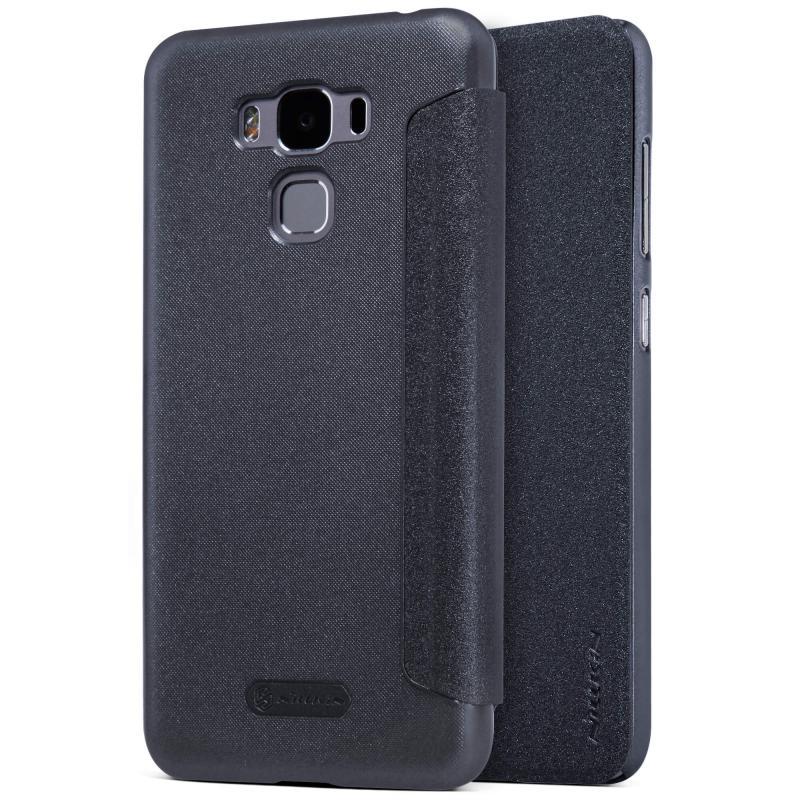 Nillkin Sparkle Flip Case Asus Zenfone 3 Max (ZC520TL) - Grey (12357) θήκες κινητών