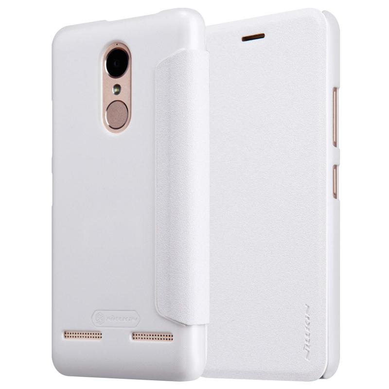 Nillkin Sparkle Flip Case Lenovo K6 Power - White (12346)
