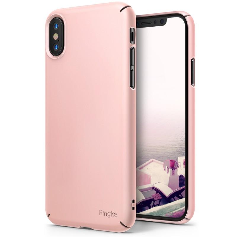 Ringke Slim Θήκη iPhone X / XS - Peach Pink (11950)