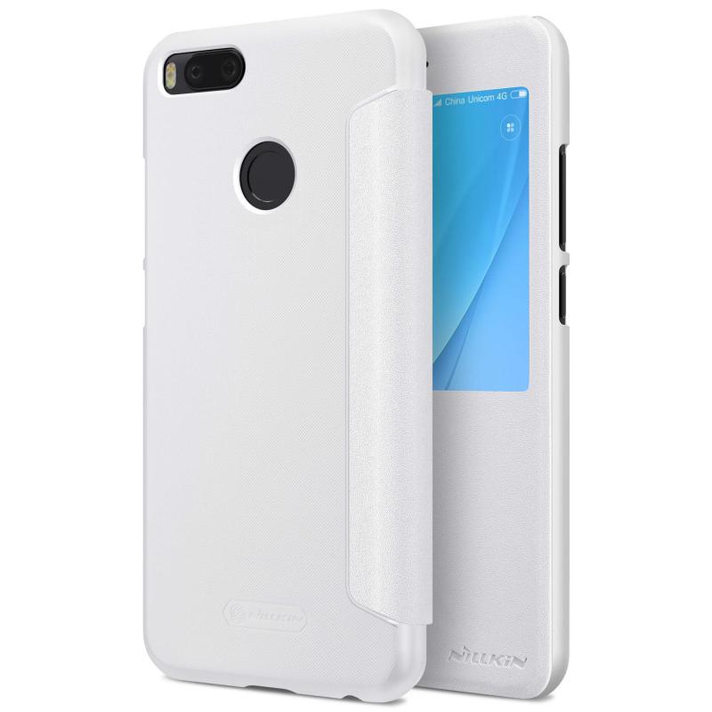 Nillkin Θήκη Sparkle View-Flip Xiaomi Mi 5X / A1 - White (11886)