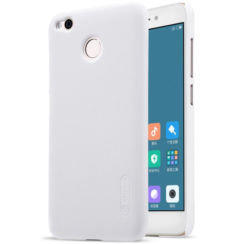 Nillkin Θήκη Super Frosted Shield Xiaomi Redmi 4 / 4X & Screen Protector - White (12298)